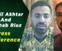 Sohail and Wahab hold virtual press conferences