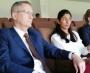 Urooj Mumtaz and Dr Geoffrey Shaw media talk at the NSK