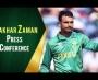 Fakhar Zaman Press Conference at Eden Park