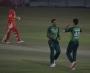 Shaheen and Wahab bowl Pakistan to win despite Taylor's century