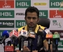 HBL PSL Post-Match Press Confrence: Mohammad Nawaz of Quetta Gladiators at Dubai International Cricket Stadium