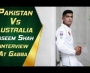 Naseem Shah interview at the Gabba
