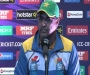 ICC WT20 - AUSvPAK Post-Match Press Conference Waqar Younis at Punjab Cricket Association Ground, Mohali