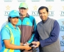 Dynamites set off four-wicket win over Blasters