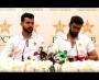 Imad Wasim and Shadab Khan press conference at Rawalpindi Cricket Stadium