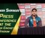 Usman Shinwari Press Conference at Pindi Cricket Stadium