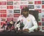 Haris Sohail press conference after day four of the first test at Abu Dhabi (Audio)