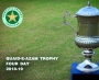 ROUND SIX DAY ONE OF QUAID-E-AZAM TROPHY FOUR DAY 2018-19