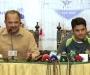 Media Talk: Team Manager Naveed Akram Cheema and ODI Captain Azhar Ali at Pearl Continental Hotel, Lahore