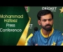 Mohammad Hafeez press conference after the first T20I against Sri Lanka  at Abu Dhabi