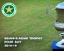 SUPER EIGHT STAGE ROUND TWO DAY THREE OF QUAID-E-AZAM TROPHY FOUR DAY 2018-19