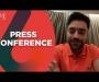 Usman and Rashid hold virtual press conferences