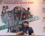 Fast bowler Wahab Riaz press conference at GSL