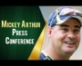 Mickey Arthur press conference after day one at Leeds