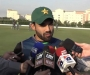 Media Talk: Mohammad Rizwan at ICC Cricket Academy, Dubai (Video and Audio in Pashto)