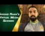 Shadab Khan holds virtual media conference