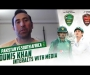 Younis Khan interacts with media