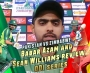 Babar Azam and Sean Williams review ODI series