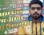 Babar Azam and Chamu Chibhabha hold pre-series media conferences