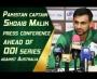 Pakistan captain Shoaib Malik press conference ahead of ODI series against Australia