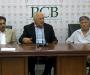Media Talk: Chairman PCB Mr Shaharyar Khan at Gaddafi Stadium, Lahore