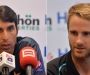 Williamson and Misbah-ul-Haq Press Conference before 2nd ODI at Sharjah (Audio)