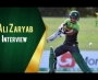 Ali Zaryab Interview After Winning the Quarter Final of U19 Cricket World Cup
