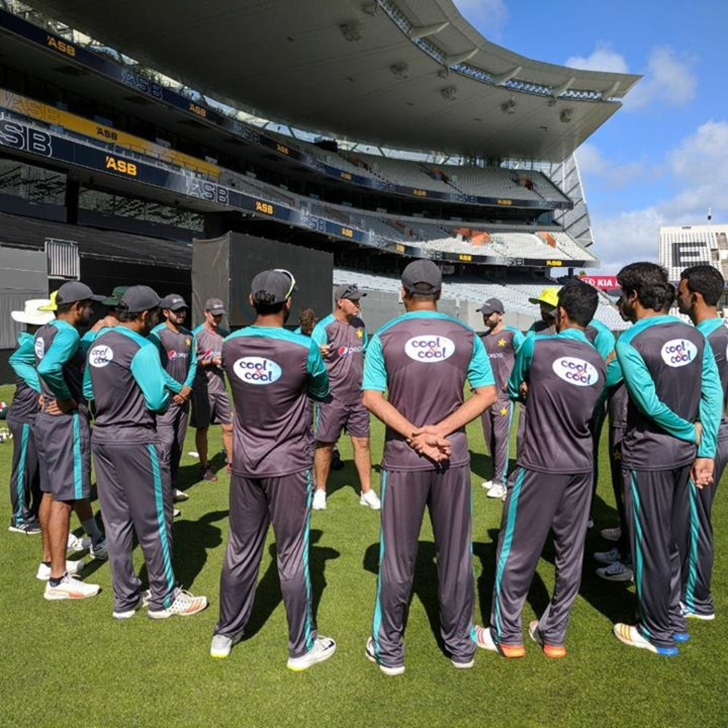 No drama from Pakistan fitness tests