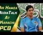 Mir Hamza Media Talk at Karachi | Northern vs Sindh