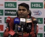 HBL PSL Post-Match Press Confrence: Umar Akmal of Lahore Qalandars at Dubai International Cricket Stadium