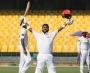 Faizan Riaz and Tayyab Tahir score double-centuries; teenager Niaz Khan records five-fer on debut