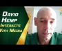 David Hemp interacts with media