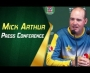 Mickey Arthur press conference at St Lawrence Ground, Canterbury