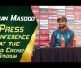 Shan Masood Press Conference at Pindi Cricket Stadium