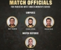 Match officials for Pakistan-West Indies women's series announced