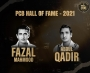 Fazal Mahmood and Abdul Qadir inducted into the PCB Hall of Fame
