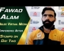 Fawad Alam holds virtual media conference after stumps on day two