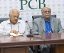 Press Conference by Chairman PCB Mr Shaharyar Khan & Chairman Executive Committee Mr Najam Sethi at Gaddafi Stadium, Lahore
