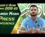 Tabish Khan press conference at the NSK