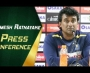 Rumesh Ratnayake press conference at NSK