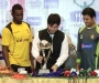 Trophy Unveiling of Cool & Cool Presents Haier Mobile Cup 2015 for Pakistan v Zimbabwe ODI