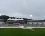 Third day's play abandoned without a ball bowled