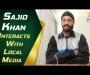 Salman Ali Agha and Sajid Khan hold virtual press conferences