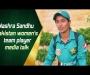 Nashra Sandhu Pakistan women's team player media talk
