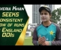 Javeria Khan seeks consistent flow of runs in England ODIs