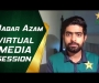 Babar Azam holds post-series media conference