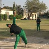 Pakistan Women Team practice session