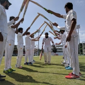 Guard of Honor for Misbah-ul-Haq and Younis Khan