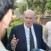 Sir Ronnie Flanagan visit to NCA and GSL