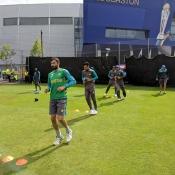 Pakistan Team practice session